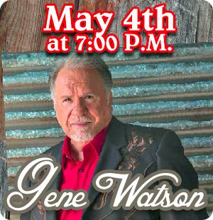 Gene Watson & The Farewell Party Band at Red Barn Convention Center, 2223 Russellville Road, Winchester, OH 45697 on Saturday 4 May 2019