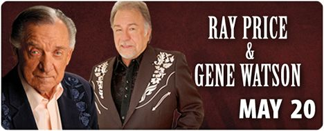 Gene Watson and Ray Price / American Music Theatre, 2425 Lincoln Highway East, Lancaster, PA / Sunday 20 May 2012 / 3:00pm