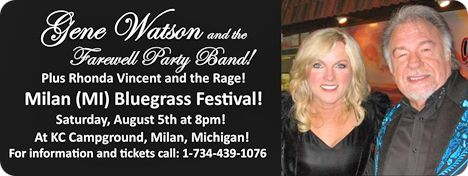 Milan Bluegrass Festival, KC Campground, 14048 Sherman Road, Milan, MI 48160