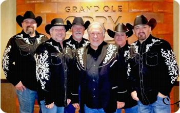 Gene Watson's Farewell Party Band: Staley Rogers, Chad Phillips, Gene Watson, Chip Bricker, Todd Hines and Danny Naccarato
