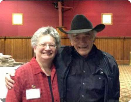Karen Lindsey and James Drury ('The Virginian')