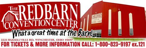 The Red Barn Convention Center, 2223 Russellville Road, Winchester, OH 45697