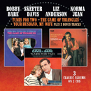 Bobby Bare & Skeeter Davis: 'Tunes For Two' / Bobby Bare, Liz Anderson & Norma Jean: 'The Game of Triangles' and Bobby Bare & Skeeter Davis:' 'Your Husband, My Wife' (Morello Records, 2017)