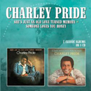 Charley Pride: 'She's Just An Old Love Turned Memory & Someone Loves You Honey' (Morello Records, 2015)