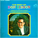 Don Gibson: 'The Best of Don Gibson' (RCA Victor Records, 1965)