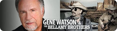 Gene Watson & Bellamy Brothers (Howard & David Bellamy) at Imperial Palace Casino Resort Spa, 850 Bayview Avenue, Biloxi, MS 39530 on Saturday 22 June 2019 (performance time: 8:00pm)