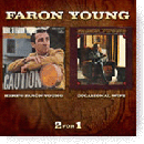 Faron Young: 'Here's Faron Young and Occasional Wife & If I Ever Fall in Love with a Honky Tonk Girl' (Hux Records, 2009)