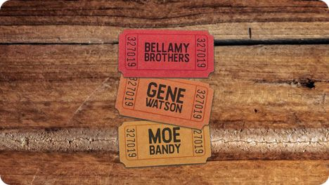 Gene Watson, Bellamy Brothers and Moe Bandy at Riverwind Casino, I-35, 1544 State Highway 9, Norman, OK 73072 on Saturday 23 May 2020 at 7:00pm
