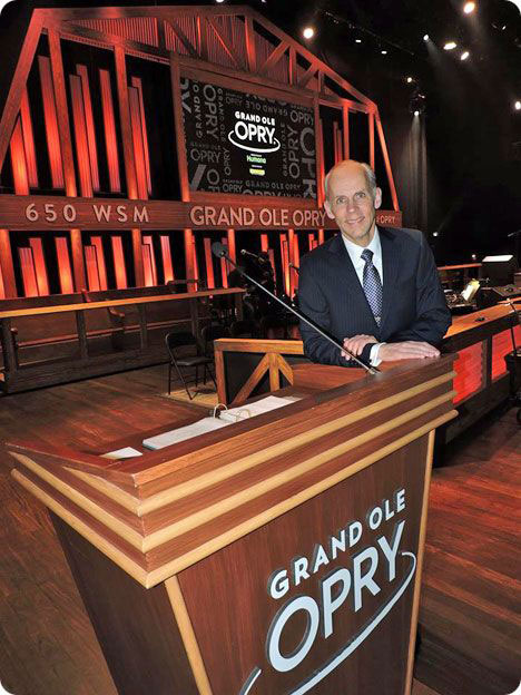 Eddie Stubbs, Nashville's Country Legend, WSM 650AM, and The Grand Ole Opry