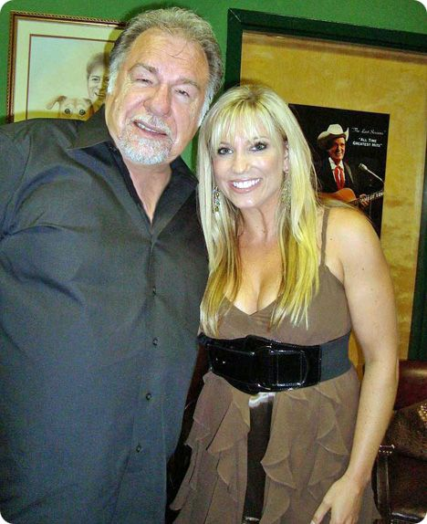 Gene Watson & Julie Roberts at Billy Yates' 'Countriest of the Country' event in Nashville on Wednesday 9 June 2010