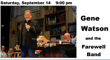 Gene Watson & The Farewell Party Band at Pope County Fairgrounds, 500 South Knoxville Avenue, Russellville, AR 72801 on Saturday 14 September 2019