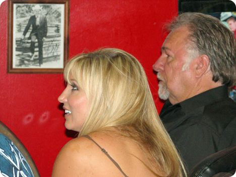 Julie Roberts & Gene Watson at Billy Yates' 'Countriest of the Country' event in Nashville on Wednesday 9 June 2010