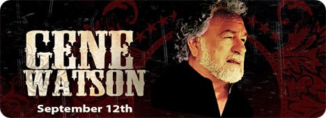 Gene Watson at Renfro Valley Entertainment Center, Renfro Valley, KY 40473 on Saturday 12 September 2015