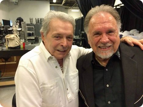 Gene Watson & Mickey Gilley at American Music Theatre in Lancaster, Pennsylvania on Sunday 13 July 2014