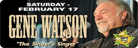 Gene Watson at Orange Blossom Opry, 16439 SE 138th Terrace, Weirsdale, FL 32195 on Saturday 17 February 2018