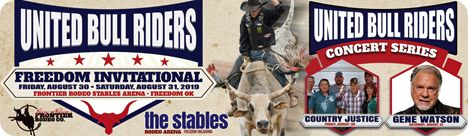 Don Gay Bull Ride at The Stables, Frontier Rodeo's Stables Outdoor Arena, 216872 State Highway 50A, Freedom, OK 73842