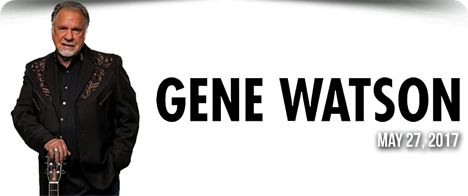 Gene Watson at Country Tonite Theatre, 129 Showplace Boulevard, Pigeon Forge, TN 37863 on Saturday 27 May 2017