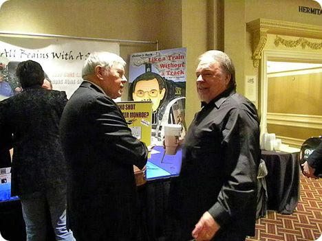 Gene Watson & Tom T. Hall at Society for the Preservation of Bluegrass Music of America (SPBGMA) Bluegrass Awards in Nashville on Sunday 7 February 2010