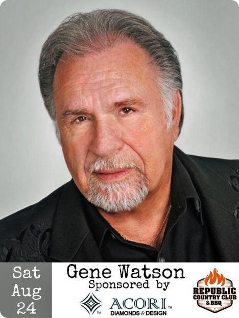 Gene Watson at Republic Country Club & BBQ, 11110 W. Airport Boulevard, Stafford, TX 77477 on Saturday 24 August 2019
