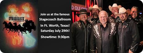 Gene Watson & The Farewell Party Band at Stagecoach Ballroom, 2516 E. Belknap, Fort Worth, TX 76111 on Saturday 29 July 2017