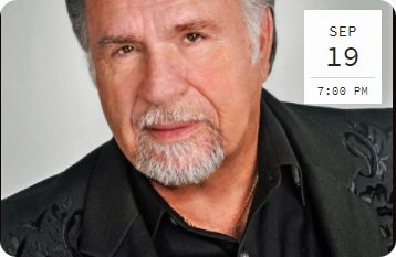Gene Watson at Liberty Hall, 103 E. Erwin, Tyler, TX 75702 on Wednesday 19 September 2018