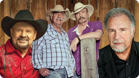 Gene Watson, Bellamy Brothers and Moe Bandy at WinStar Casino, 777 Casino Ave, Thackerville, OK 73459 on Sunday 20 December 2020