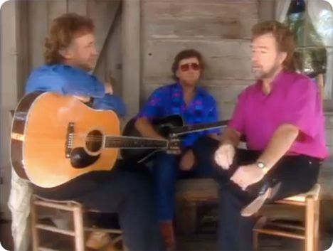 Stan Hitchcock, Norman Richard 'Norm' Kastner (Sunday 2 September 1945 - Wednesday 18 July 2012) & Gene Watson on 'Heart To Heart' in 1994