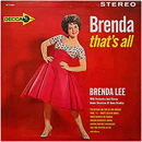 Brenda Lee: 'Brenda That's All' (Decca Records, 1962)