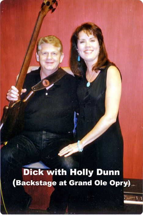 Dick McVey and Holly Dunn (Thursday 22 August 1957 - Tuesday 15 November 2016) backstage at The Grand Ole Opry in Nashville