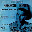 George Jones: 'Grand Ole Opry's New Star George Jones: Country Song Hits' (Starday Records, 1957)