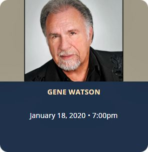 Gene Watson at Belterra Casino Resort, Center Stage Showroom, 777 Belterra Drive, Florence, IN 47020 on Saturday 18 January 2020