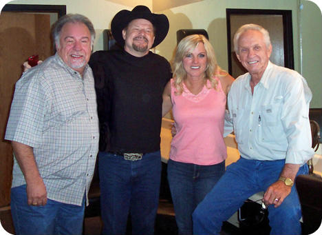 Gene Watson, Moe Bandy, Rhonda Vincent and Mel Tillis (Monday 8 August 1932 - Sunday 19 November 2017)
