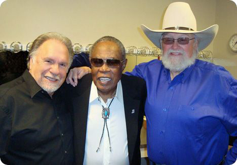 Gene Watson, Sam Moore and Charlie Daniels (Wednesday 28 October 1936 - Monday 6 July 2020)