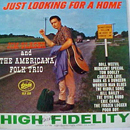 Jim Glaser & The Americana Folk Trio: 'Just Looking For A Home' (Starday Records, 1962)
