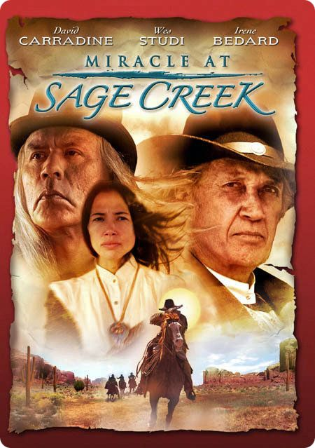 Theatrical Poster for 'Miracle At Sage Creek' (Talmarc Productions, 2005) (Directed by James Intveld) (Starring David Carradine)