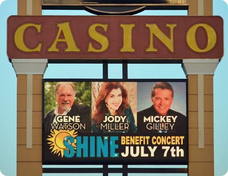 Gene Watson and Mickey Gilley, with Jody Miller at Grand Casino Hotel Resort, 777 Grand Casino Boulevard, Shawnee, Oklahoma 74804 on Saturday 7 July 2018
