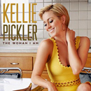Kellie Pickler: 'The Woman I Am' (Black River Entertainment, 2013) / vinyl cover