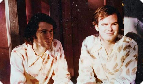 Mark Casstevens and Don Cook in Nashville in 1971