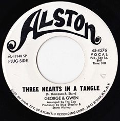 George McCrae & Gwen McCrae: 'Three Hearts in a Tangle' (Alston Records, 1970)