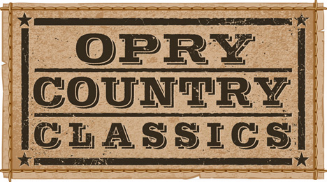 Opry Country Classics, Ryman Auditorium, 2804 Opryland Drive, Nashville, TN 37214 / Saturday 10 June 2017 / Performances from 3:00pm