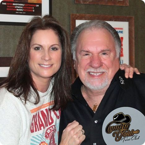 Terri Clark with Gene Watson, the newest member of The Grand Ole Opry, on Terri Clark's 'Country Gold', a music-intensive, fan-interactive program, featuring special guest artists and country music classics, which airs on more than 100 radio stations in the United States / Terri Clark's 'Country Gold' with Gene Watson was aired on Saturday 22 February 2020 and Sunday 23 February 2020