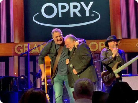 On Friday 17 January 2020, Gene Watson received an invitation, from Vince Gill, to join The Grand Ole Opry as the next official member